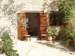 village house courtyard