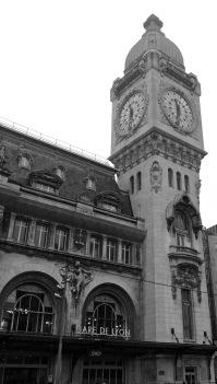 clock tower outside entrance