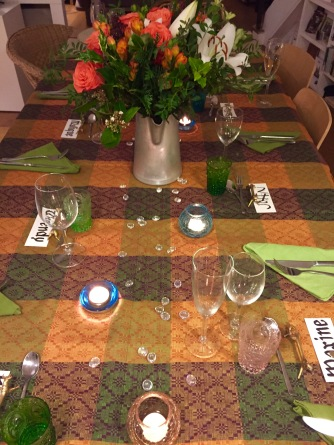 thanksgiving table, chez bentley