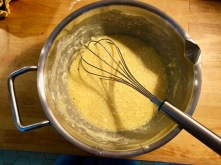 whisk ingredients by hand or in blender
