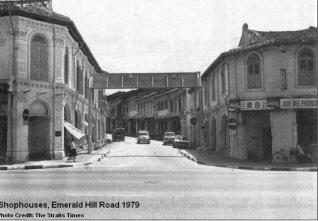 Peranakan Place pre-urban renewal, 1979