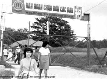 singapore refugee camp, 1975-1996